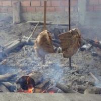Costela no fogo de chão