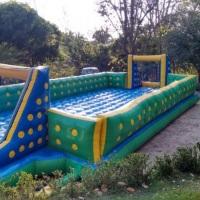 R$450,00 Futebol de sabão 14x5,5metros o maior de Teresina, grátis frete e Shampoo Neutro!!!