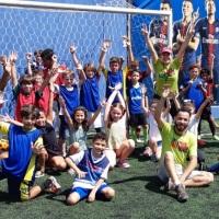 Também temos equipe para fazer aquele futebol com a garotada!!!