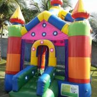 Castelo pula pula e/ou piscina de bolinhas