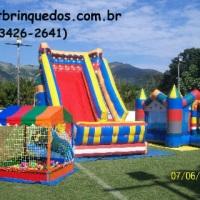 piscina de bolas+toboga+pulapula castelo