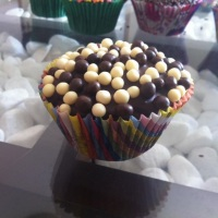 Cupcake com Chocopower