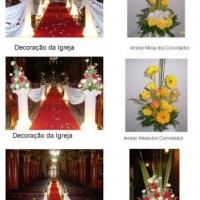 Decoração Cerimonia e Arranjos de Mesas