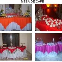Mesas do Café de Saída