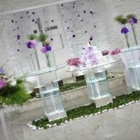 Mesa decorada Vidro