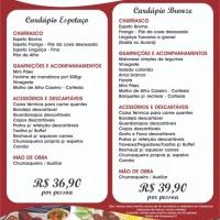 Buffet de Churrasco c/ espetinhos