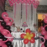 decorações com baloes