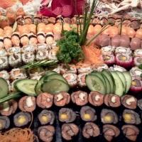 variedades de sushis