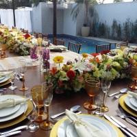 Festa de casamento em mansão no condomínio Jardim Acapulco, Guarujá/SP. Tem casa para alugar com óti