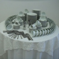 Mesa para café (estrutura básica)