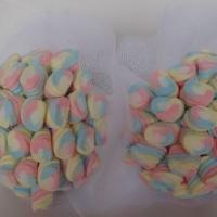 Bouquet Marshmallow para daminhas casamento