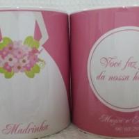 Caneca personalizada de casamento