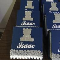 Personalizados de luxo - caixas lembretes (já vem com folhinhas dentro)