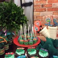 Aniversário tartarugas Ninjas