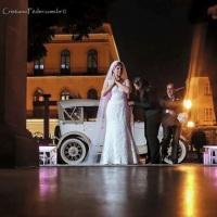 Preparação da noiva para a sua entrada na igreja