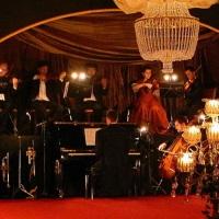 """Pequena orquestra para o evento """"Baile Imperial"""" no Spa do Vinho. Bento Golçalves, RS"""