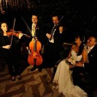 Trio de cordas para casamento petit comitrèe em restaurante. Porto Alegre, RS