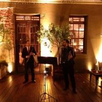 Duo de oboé e acordeon para recepção. Jantar dos Namorados na Caza Wilfrido.