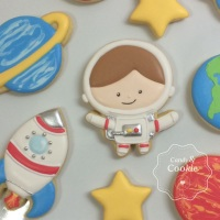 Biscoitos Decorados - Astronauta