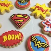 Biscoitos Decorados - Heróis