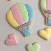 Biscoitos Decorados - Balões