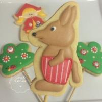 Biscoitos Decorados - Lobo Mau