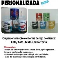 Caneca cerâmica personalizada. Loja virtual: www.canecasbahia.com.br