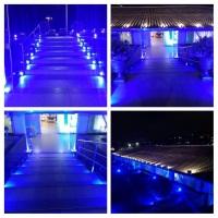 Iluminação externa de eventos