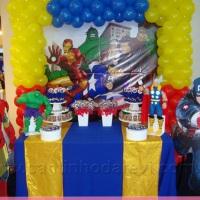 Festa decorada vingadores