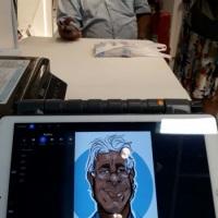 Evento / Digital / LG / Ponto Frio / Caricatura na caneca