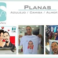 Caricatura Digital /Estampa em Camisas, Azulejos e Almofadas / 30% desc. / Mais de 7.000 Eventos Rea