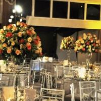 Arranjos de mesa de Convidados