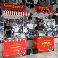 Aluguel de carrinho de pipocas e algodão doce em Belo Horizonte.