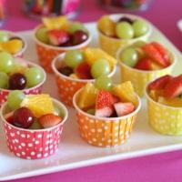 Frutas em nosso buffet faz o maior sucesso.