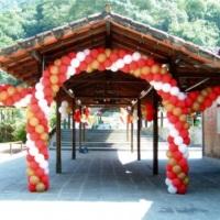 Ornamentação básica com balões.