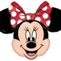 """Balão Metalizado Minnie Super Shape e 14""""."""