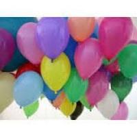Balões Látex Lisos com Gás Hélio a R$ 2,50 a unidade nas segundas e terças-feiras.