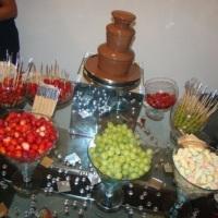 Aluguel de cascata de chocolate Sétima Festas