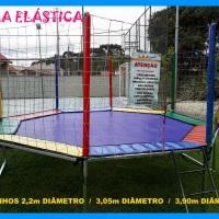 Cama elástica - octagonal medidas 2,20 - 3,05 - 3,90m