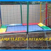 Cama elástica Retangular