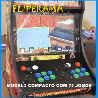 Fliperama compacto - 75 jogos