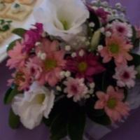 puf de flores mistas
