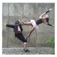 Duo Acrobático para eventos, casamentos e 15 anos;