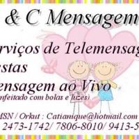 A&C Mensagens Ao Vivo , Telemensagens e Cestas