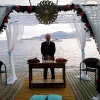 Cerimônia das areias em Ilhabela