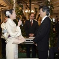 Cerimônia de casamento tradicional.
