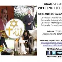 Celebrante de Casamento - Khaleb Bueno