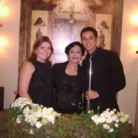 Com Adriana Vinand e Eduardo Rosa no Guia Casar 2009