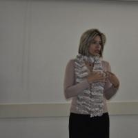 Giovana Barbosa durante Curso