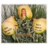 Rosas Naturais Personalizadas